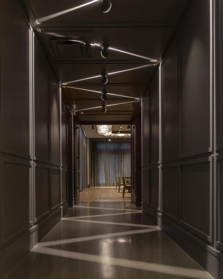 park james hallway